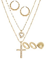 ASOS Jewelry Creole Multipack