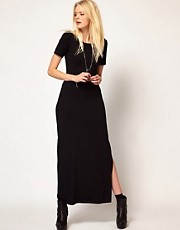 LnA Scoop Back Maxi Dress
