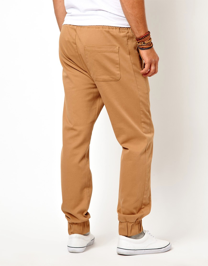 Image 2 of ASOS Heavyweight Cuffed Joggers