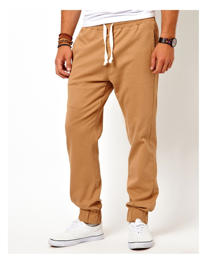 Image 1 of ASOS Heavyweight Cuffed Joggers