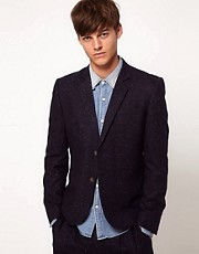 ASOS Slim Fit Tweed Suit Jacket
