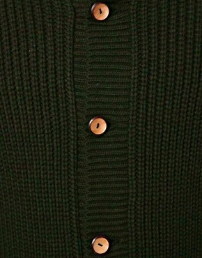 Image 3 ofASOS Cable Cardigan