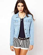 Only Light Wash Denim Jacket