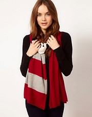 Alice Hannah Exclusive to Asos Colour Block Scarf