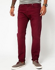 Carhartt Jeans Vicious Slim Tapered Coloured Denim