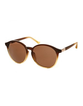 Image 1 ofThe Row Rounded Sunglasses