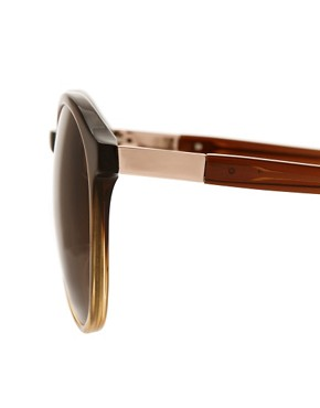 Image 4 ofThe Row Rounded Sunglasses