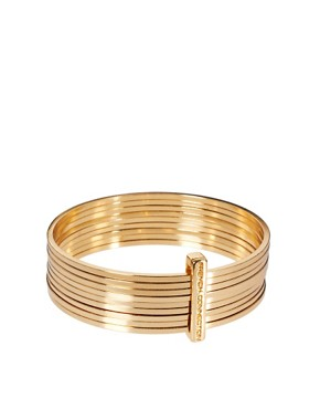 Image 1 ofFrench Connection Metal Bangle Stack