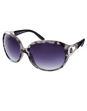 Gafas de sol de plstico negras Sg Jessie de River Island