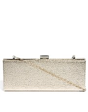 Oasis &ndash; Rechteckige Hardcase-Clutch mit Noppendesign