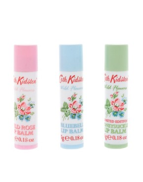 Image 1 ofCath Kidston Assorted Lip Balm Set SAVE 33%