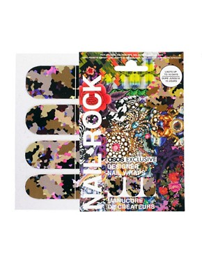 Image 1 ofNail Rock ASOS Exclusive Baroque Digital Camo Print
