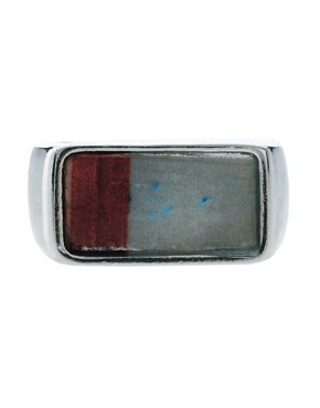 Image 2 of ASOS Stone Signet Ring