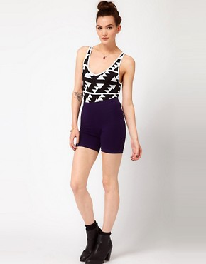 Image 4 ofAmerican Apparel Printed Cotton Jersey Tank Body
