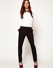ASOS Trousers with Stud Waistband