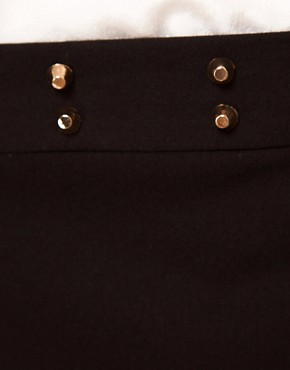 Image 3 ofASOS Trousers with Stud Waistband