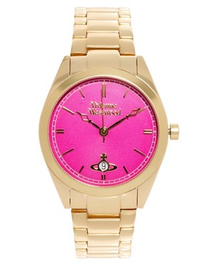 Image 1 of Vivienne Westwood Watch Gold Stainless Steel VV051CPGD