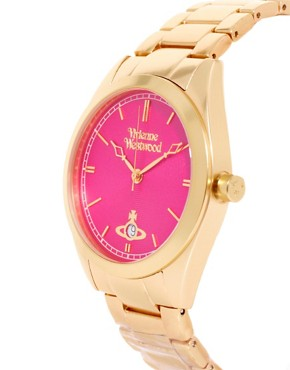 Image 3 of Vivienne Westwood Watch Gold Stainless Steel VV051CPGD
