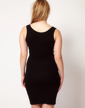 Image 2 ofASOS CURVE Exclusive Bodycon Vest Dress
