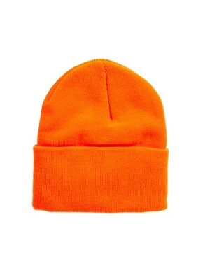 Image 2 ofAmerican Apparel Neon Cuffed Beanie