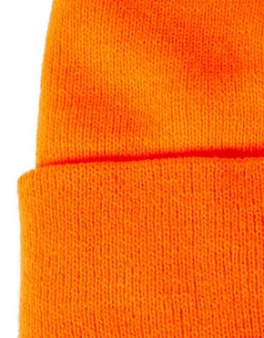 Image 3 ofAmerican Apparel Neon Cuffed Beanie