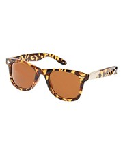 Jeepers Peepers Winston Tortoise Shell Wayfarer Sunglasses