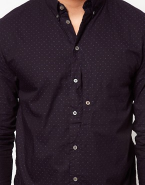 Image 3 ofPaul Smith Jeans Shirt with Small Polka Dot