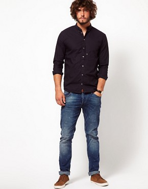 Image 4 ofPaul Smith Jeans Shirt with Small Polka Dot