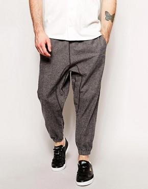ASOS Cropped Skinny Sweatpants With Zip Details