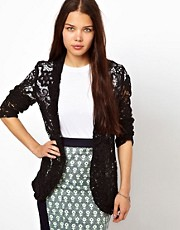 American Retro Lace Blazer