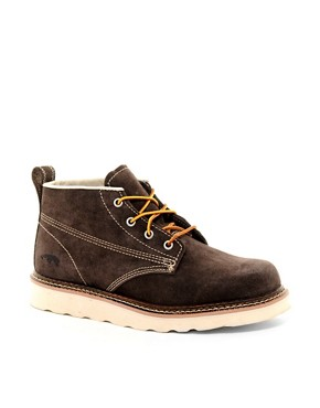 Image 1 ofJack &amp; Jones Stone Lo Suede Boots