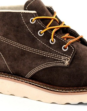 Image 2 ofJack &amp; Jones Stone Lo Suede Boots
