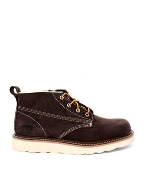 Image 4 ofJack &amp; Jones Stone Lo Suede Boots
