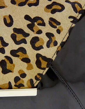 Image 2 ofALDO Mendola Leopard Clutch