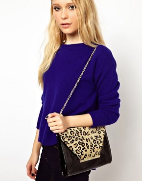 Image 3 ofALDO Mendola Leopard Clutch