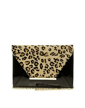 Image 1 ofALDO Mendola Leopard Clutch