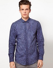 Antony Morato Shirt with Paisley Print