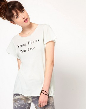 Image 1 ofWildfox Run Free T-Shirt