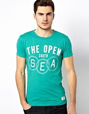 Jack &amp; Jones  T-Shirt with Sea Print