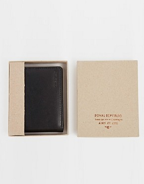 Royal RepubliQ City Billfold Leather Wallet With Coin Pocket