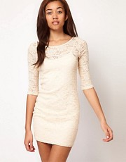 River Island Lace Bodycon Dress