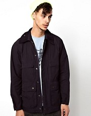 Barbour Jacket with Cord Collar