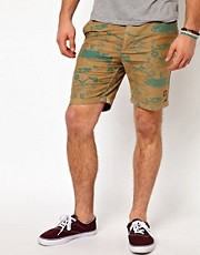 Insight Shorts Kaos Hawiian Print