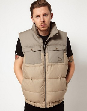 Image 1 ofPro Green X PUMA Gilet