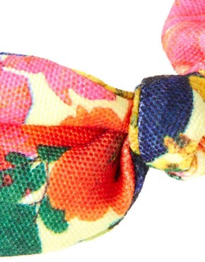 Image 2 ofPieces Navi Floral Side Bow Alice Band
