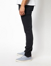 ASOS - Jeans skinny con colorazione intensa