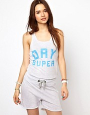 Superdry Logo Playsuit