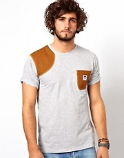 G Star Marc Newson T-Shirt Contrast Patch &amp; Pocket