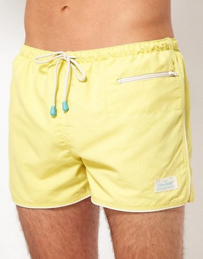Image 1 ofOiler &amp; Boiler East Hampton Retro Swim Shorts