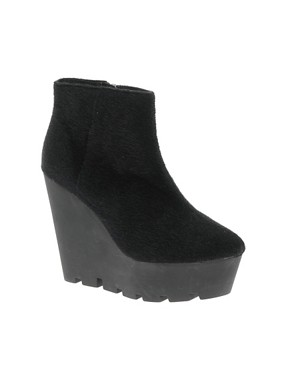 Image 1 ofCheap Monday Monolit Pony Wedge Ankle Boots